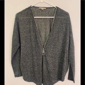 💰Oversized open neck Quarter sleeve shirt